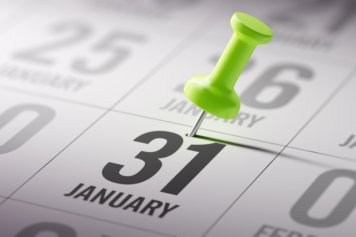 Note the New Due Dates for Forms W-2 and 1099