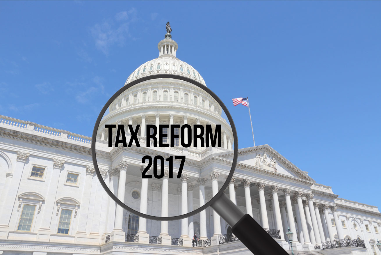 Sweeping Tax Reform Act Will Affect YOU!